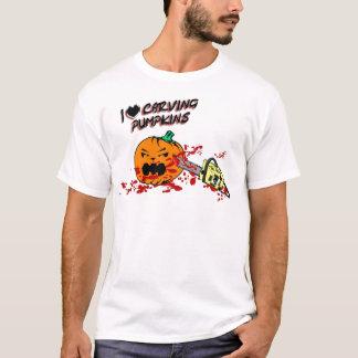 I Love Carving Pumpkins T-Shirt