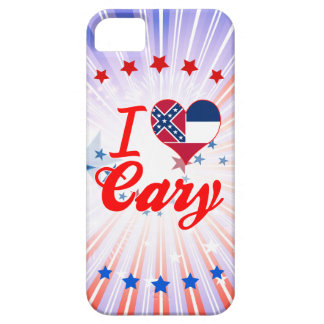I Love Cary, Mississippi iPhone 5 Case
