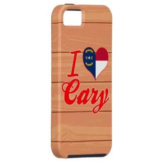 I Love Cary, North Carolina iPhone 5 Covers