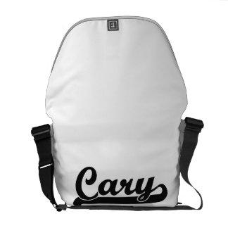 I love Cary North Carolina Classic Design Courier Bag