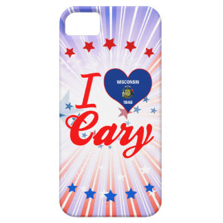 I Love Cary, Wisconsin iPhone 5 Cover