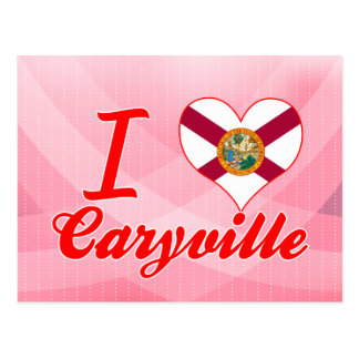 I Love Caryville, Florida Postcard