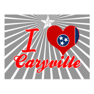 I Love Caryville, Tennessee Postcard