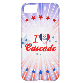 I Love Cascade, Iowa Case For iPhone 5C