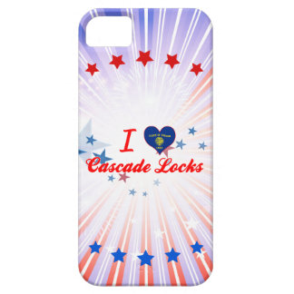 I Love Cascade Locks, Oregon iPhone 5 Covers