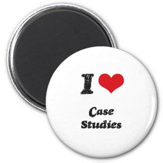 I love Case Studies Magnet