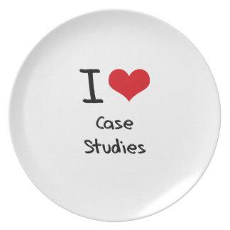 I love Case Studies Plate