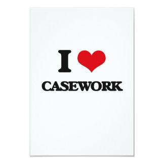 I love Casework Customized Invitation Card