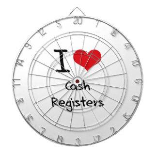 I love Cash Registers Dart Board