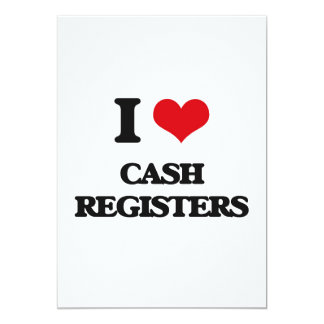 I love Cash Registers Card