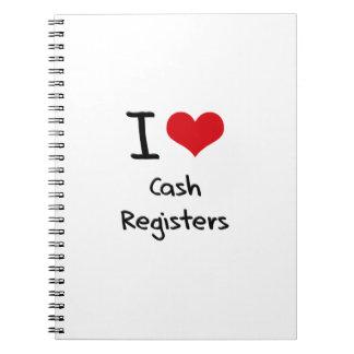 I love Cash Registers Journals
