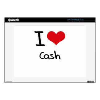 I love Cash Acer Chromebook Skins