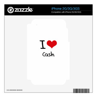 I love Cash Decal For The iPhone 3GS