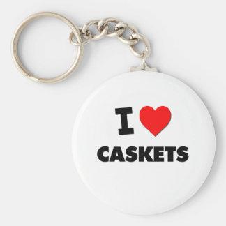 I love Caskets Keychain