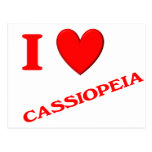 I Love Cassiopeia Post Cards