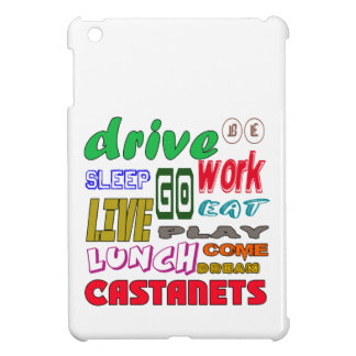 I Love Castanets Cover For The iPad Mini