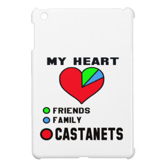 I love Castanets. iPad Mini Cover