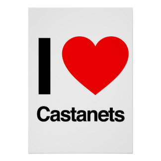 i love castanets poster