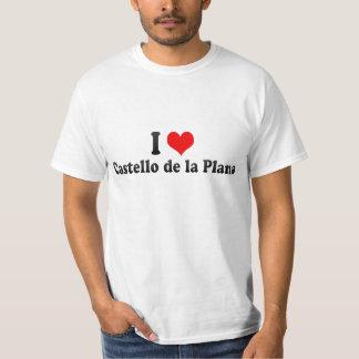 I Love Castello de la Plana, Spain T-Shirt