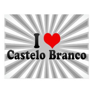 I Love Castelo Branco, Portugal Postcard