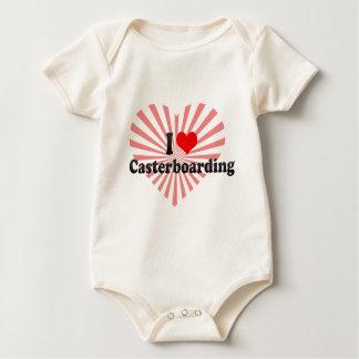 I love Casterboarding Baby Bodysuit