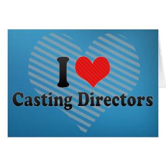 I Love Casting Directors Cards