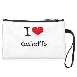I love Castoffs Wristlet Clutches