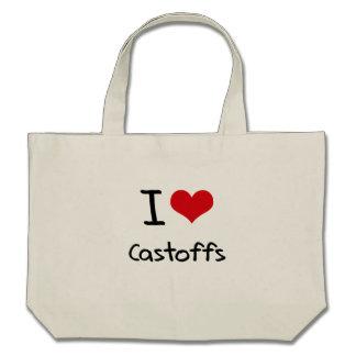 I love Castoffs Canvas Bag