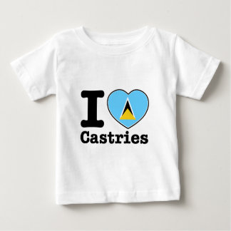 I love Castries Baby T-Shirt