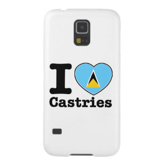 I love Castries Cases For Galaxy S5