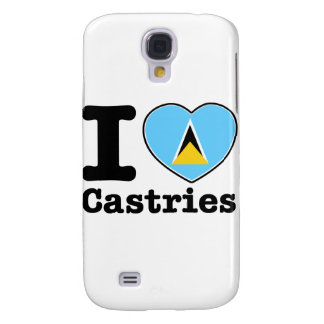 I love Castries Galaxy S4 Cover
