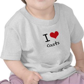I love Casts T-shirts