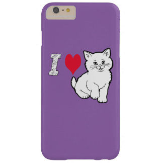 I love cat barely there iPhone 6 plus case