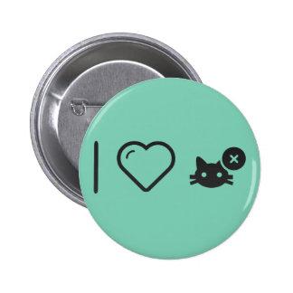 I Love Cat Breeding 2 Inch Round Button