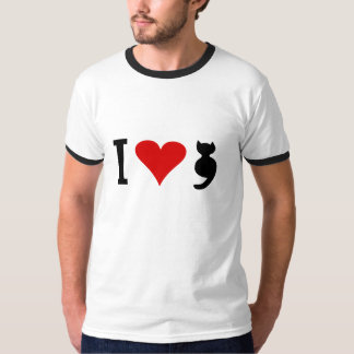 I Love Cat T-Shirt
