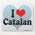 I Love Catalan Mouse Pad