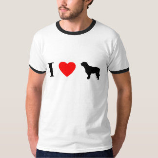 I Love Catalan Sheepdogs Ringer TShirt