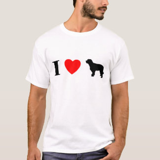 I Love Catalan Sheepdogs T-Shirt