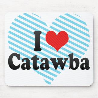 I Love Catawba Mouse Pad