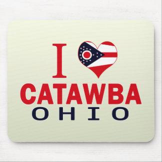 I love Catawba, Ohio Mouse Pad