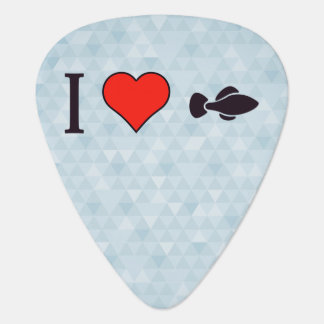 I Love Catching Fish Guitar Pick