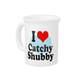 I love Catchy Shubby Drink Pitchers