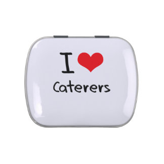I love Caterers Candy Tin