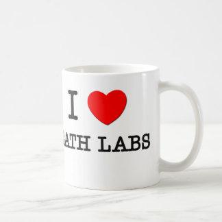 I Love Cath Labs Classic White Coffee Mug