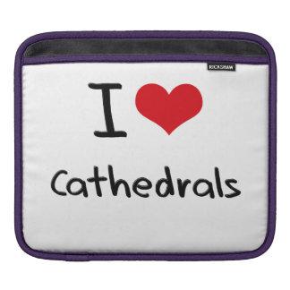 I love Cathedrals iPad Sleeve