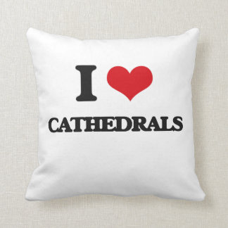 I love Cathedrals Pillow