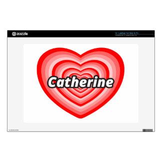 I love Catherine Laptop Skin