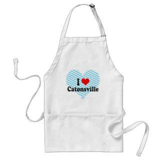 I Love Catonsville, United States Adult Apron