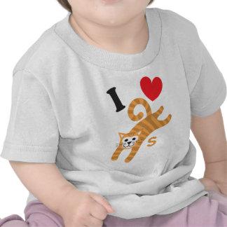 I Love Cats Apparel Shirt