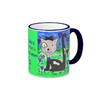 I Love Cats BaiLey Mug